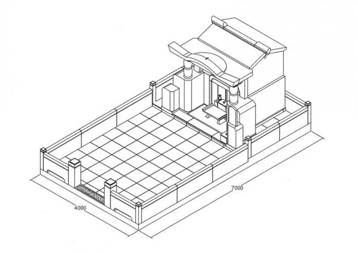 墓地イメージ